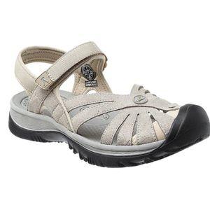 Keen rose tan water shoes